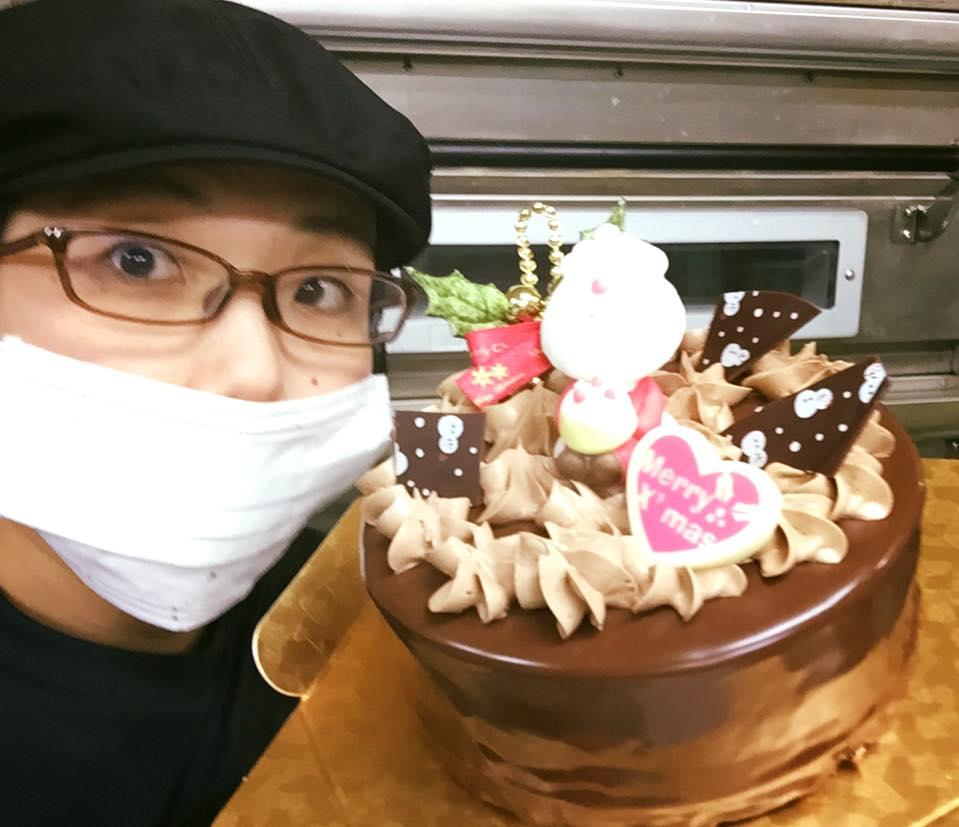 クリスマスケーキだよ (チョコレート)