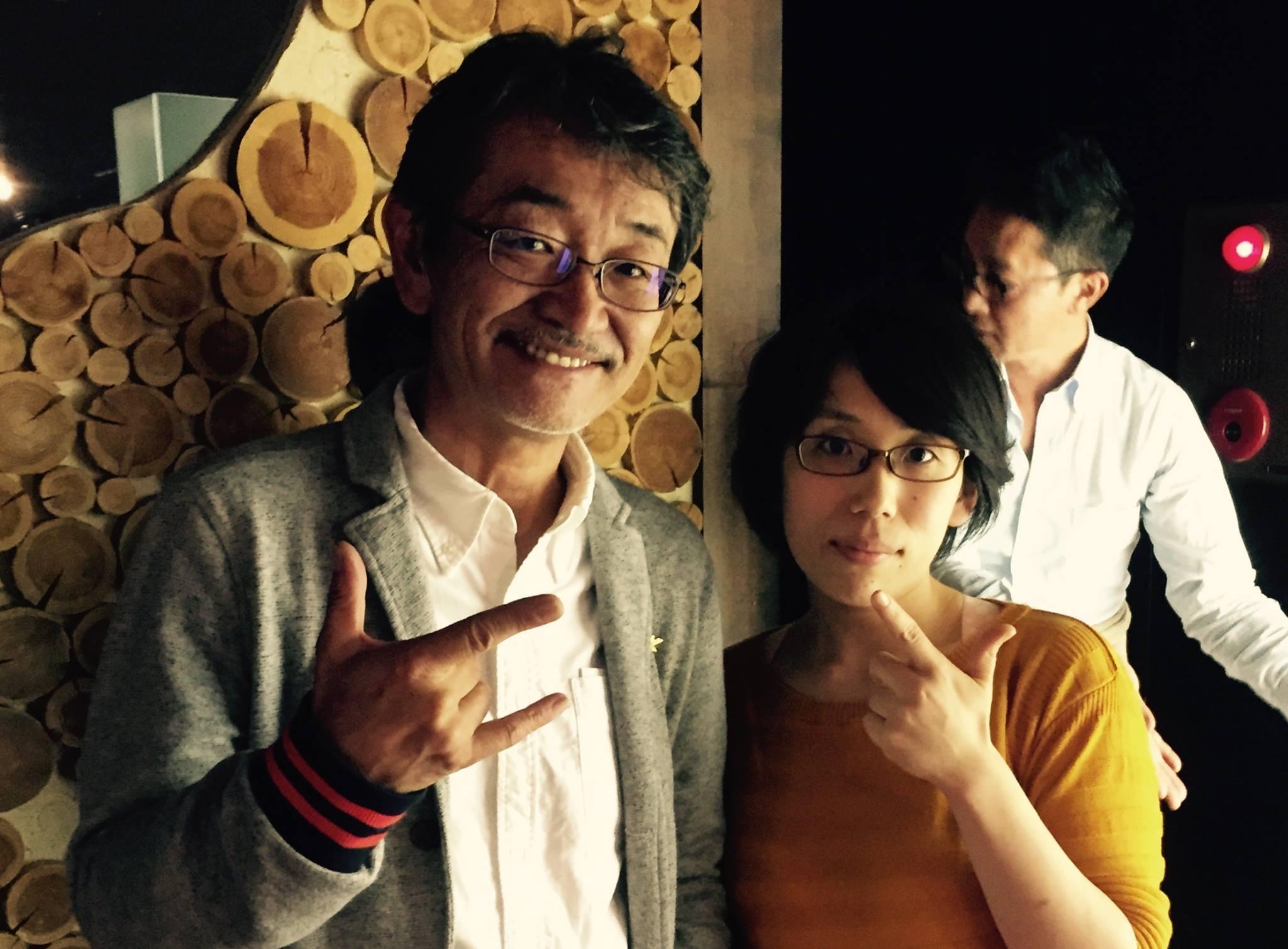 9月のセミナー時の 藤村先生とのツーショット!