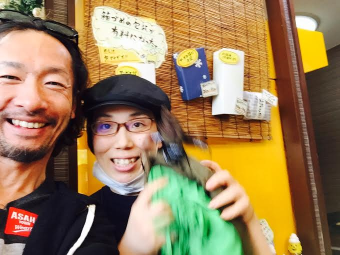 村尾さんと念願のツーショット