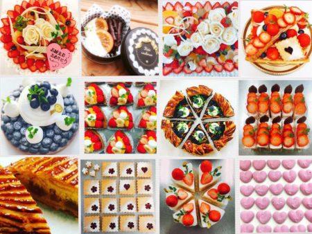 Instagramのウチコのケーキ