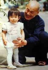 祖父と多分3歳くらいの私