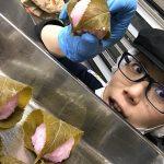 桜餅の葉っぱ食べるか食べないか論争