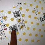 ワクワクする二つ折り名刺は立派な販促物で、忘れられないようにするアイテム